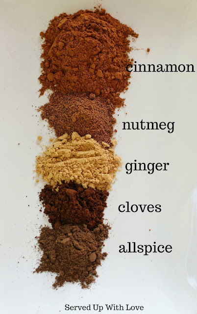 Pumpkin Pie Spice Mix recipe from Served Up With Love