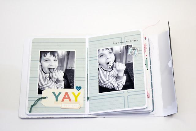 Minibook Crate Paper