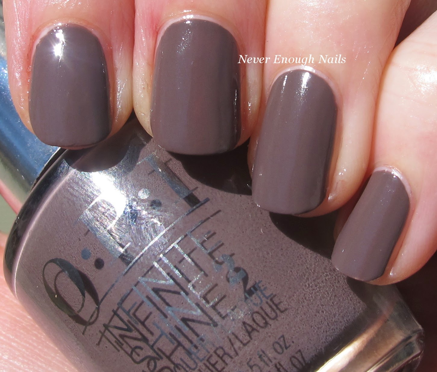 Never Enough Nails: OPI Infinite Shine Swatches and Wear Test!