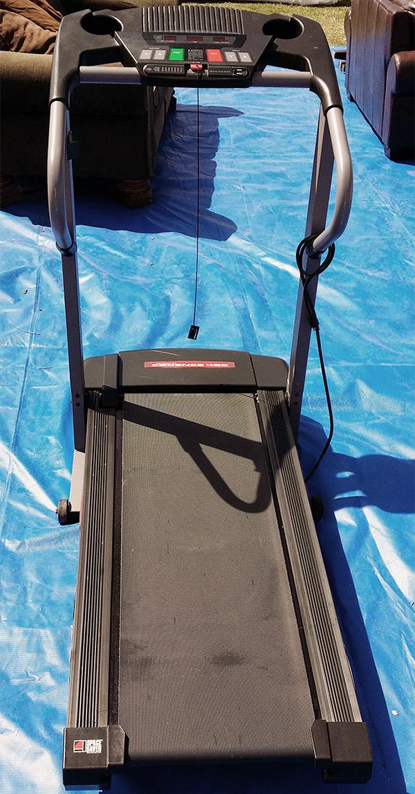 Cadence 450 Treadmill SpaceSaver - $120 (OKC Craigslist)