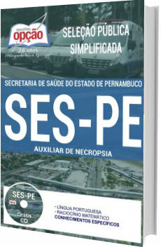 Apostila SES-PE 2017 Auxiliar de Necropsia