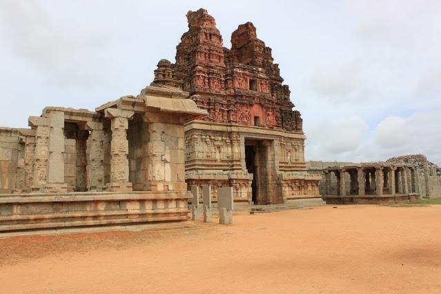 East entrance of Vitthala Temple