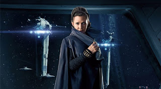 Carrie Fisher en Los últimos Jedi