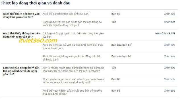 Hướng dẫn ngăn không cho Tag trên Facebook mới nhất 2013