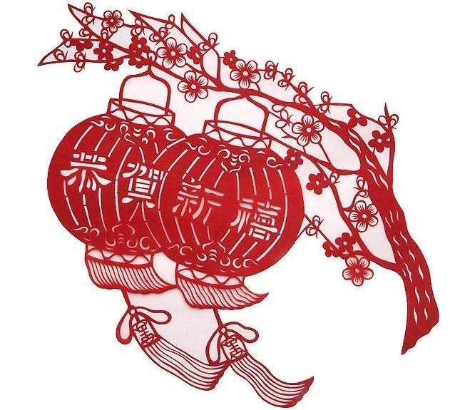 Crafty Card Beautiful Chinese Papercut