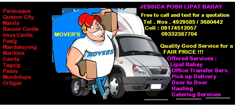 POSH LIPAT BAHAY / OFFICE TRANSFER SERVICES: JESSICA POSH
