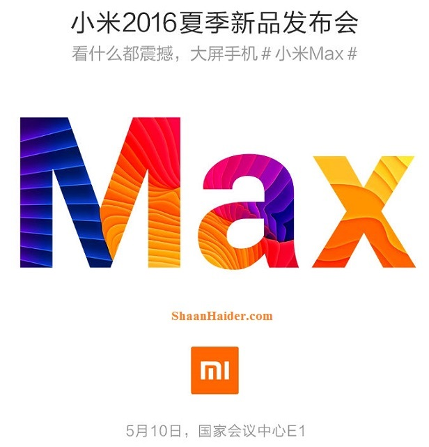 Xiaomi Max - Rumored and Leaked Hardware Specs and Feautres