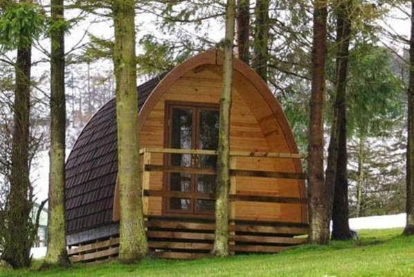 Case prefabbricate in legno for Case in legno sugli alberi
