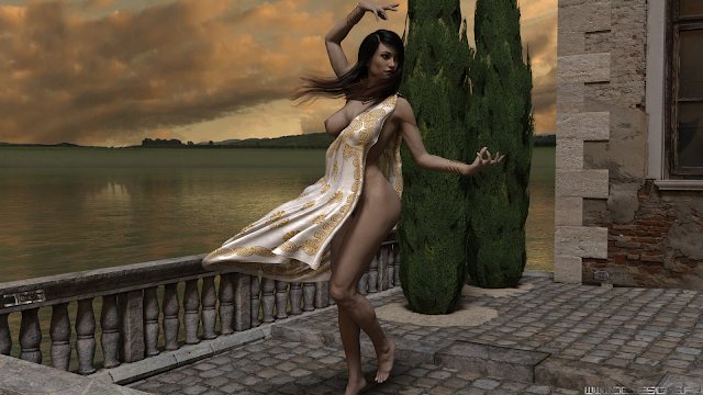 3D Art, 3D Artwork, Digital Art, Daz3D, Peaceful, Joy, Dance, Spiritual, Happiness