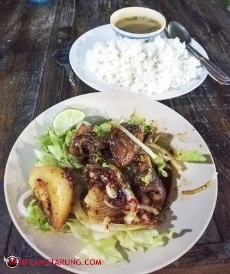 Set Nasi Teppan Ayam Bakar