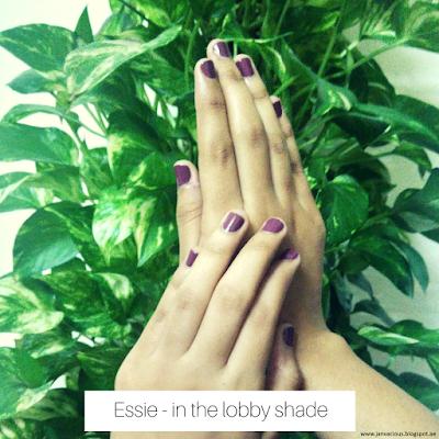 Beauty Pop Event - Dubai Essie : in the lobby shade