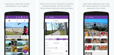 Aplikasi editing video Android : Adobe Premier Clip