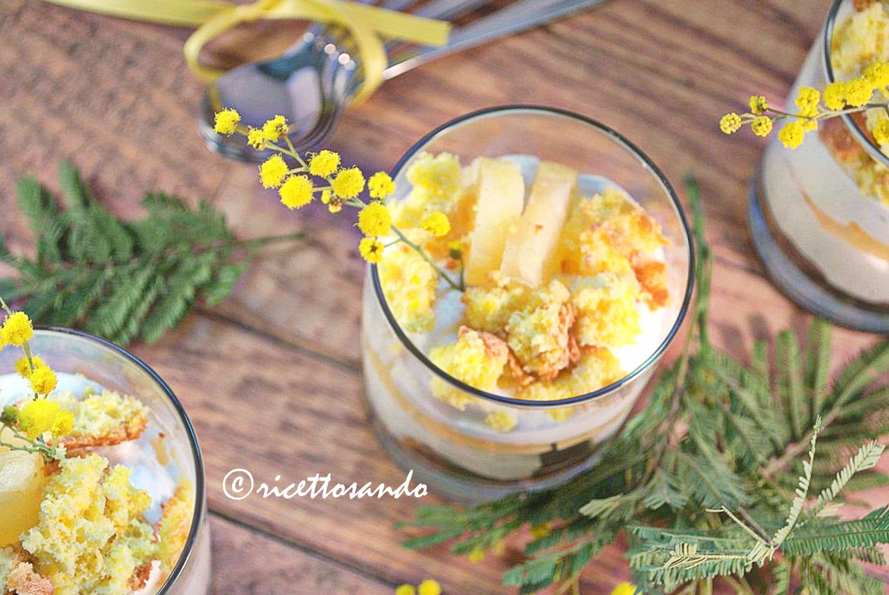 Le mimosette ricetta festa delle donne