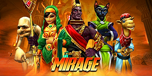 Frostcaller: Wizard101 Test Realm Opens for Mirage