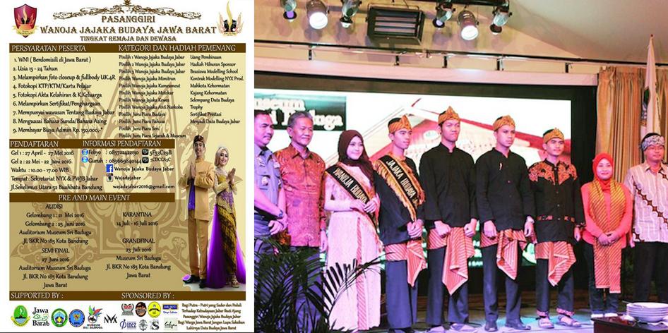 Wanoja Jajaka Budaya Jawa Barat 2016