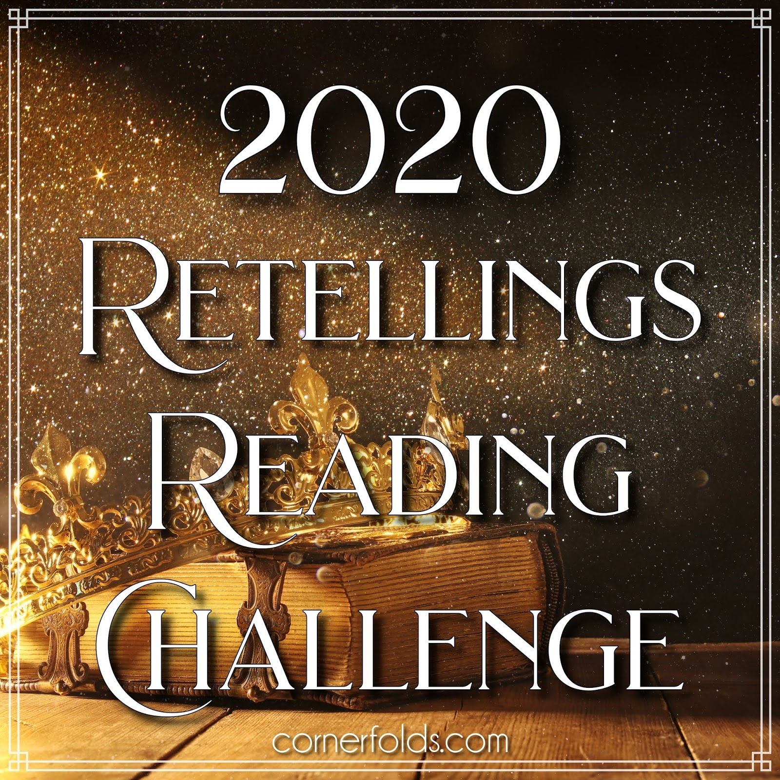 2020 Retellings Reading Challenge Logo
