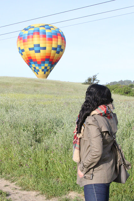 Sunrise Hot Air Balloon Riding Outfit | Will Bake for Shoes