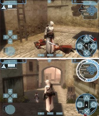 تحميل لعبة Assassins Creed Bloodlines بحجم 100mb فقط على محاكي