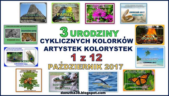 Cykliczne Kolorki u Danusi