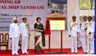 Indian Navy commissions Naval Hospital INHS Sandhani