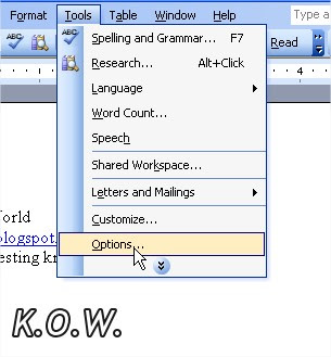Microsoft Word Tools