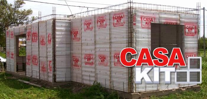 Casas de madera prefabricadas casa kit thermoiron for Kit casas prefabricadas