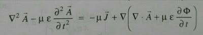 Ecuacion del potencial vectorial