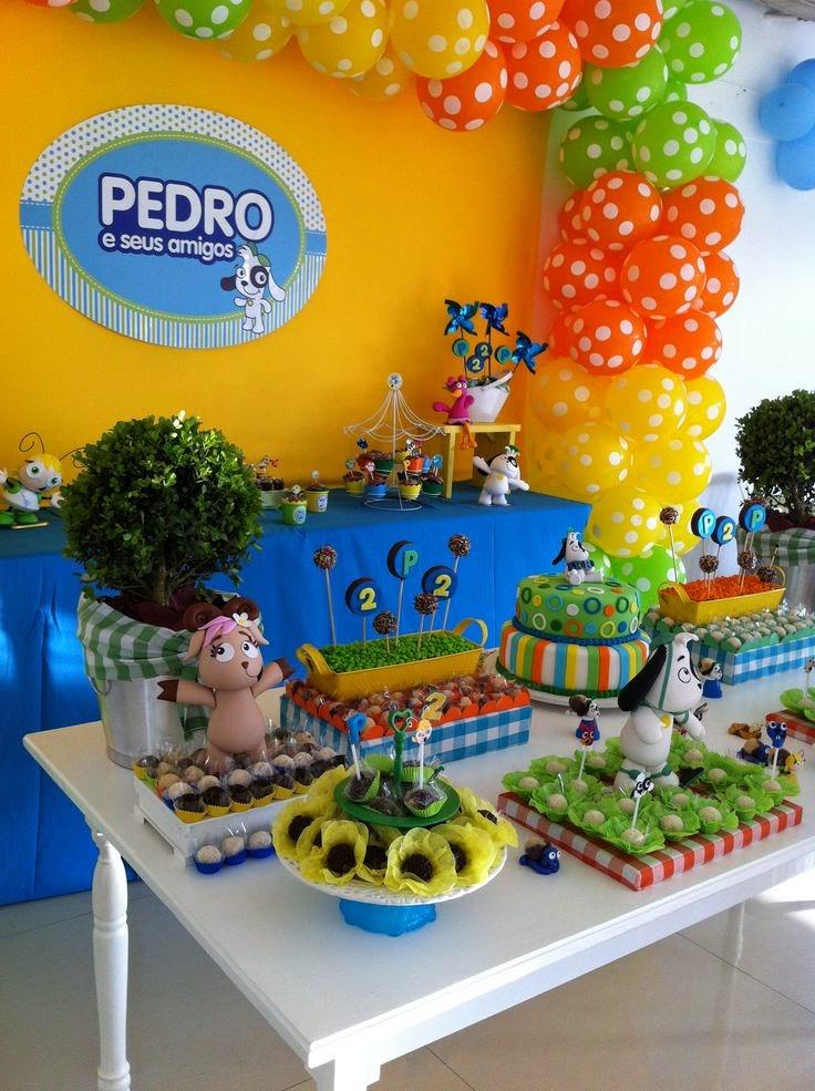 Decoracion De Fiestas Infantiles De Nios Decoracion De Cumpleaos - Decoracin-cumpleaos-infantiles
