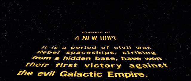 1981 version of star wars crawl