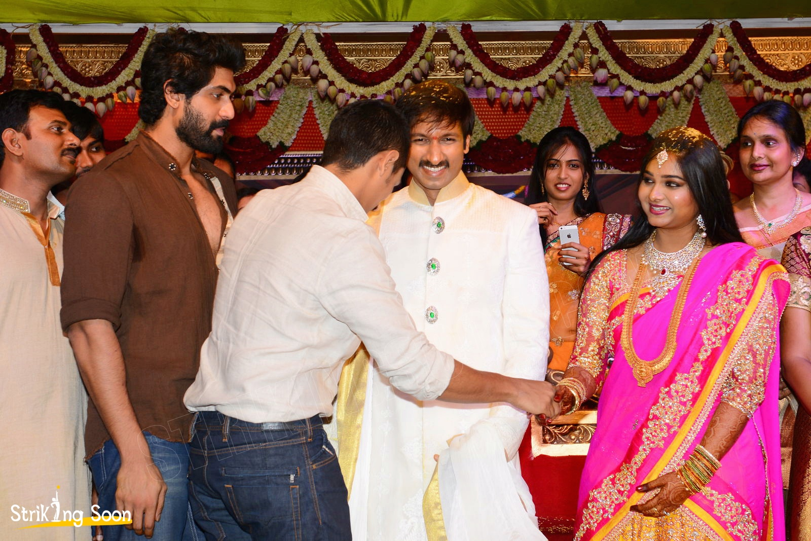 gopichand marriage with reshma photos