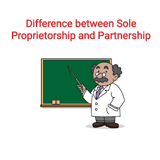 Difference between Sole Tŕading Concern and Partnership - Business Studies