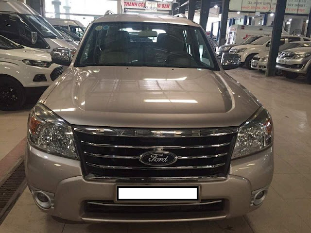 BÁN XE FORD CŨ  FORD EVEREST 2011
