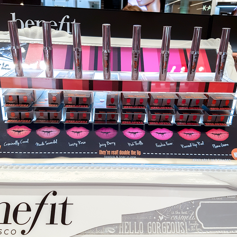 Benefit They're Real! Double the Lip Lipstick and Liner In One - Swatches