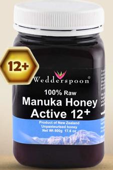 Imagine borcan miere de manuka active raw 12+