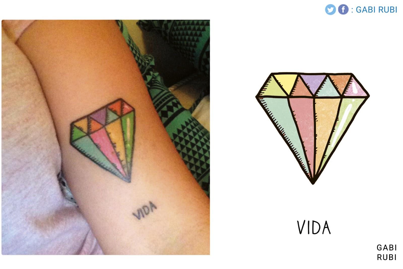 Gabi Rubí Dibujos Magicos Tatuajes De Los Dibujos De Gabi Rubi