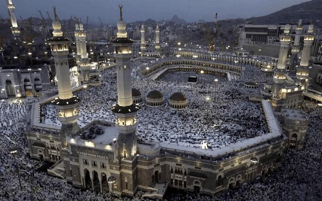 proses kebersihan masjidil haram