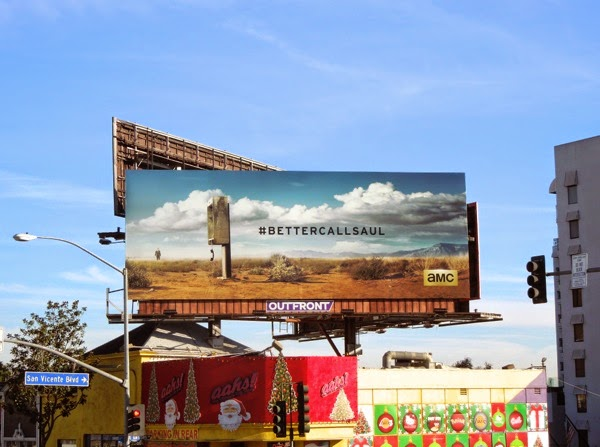 Better Call Saul teaser billboard