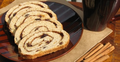Divya S Culinary Journey Cinnamon Swirl Raisin Bread