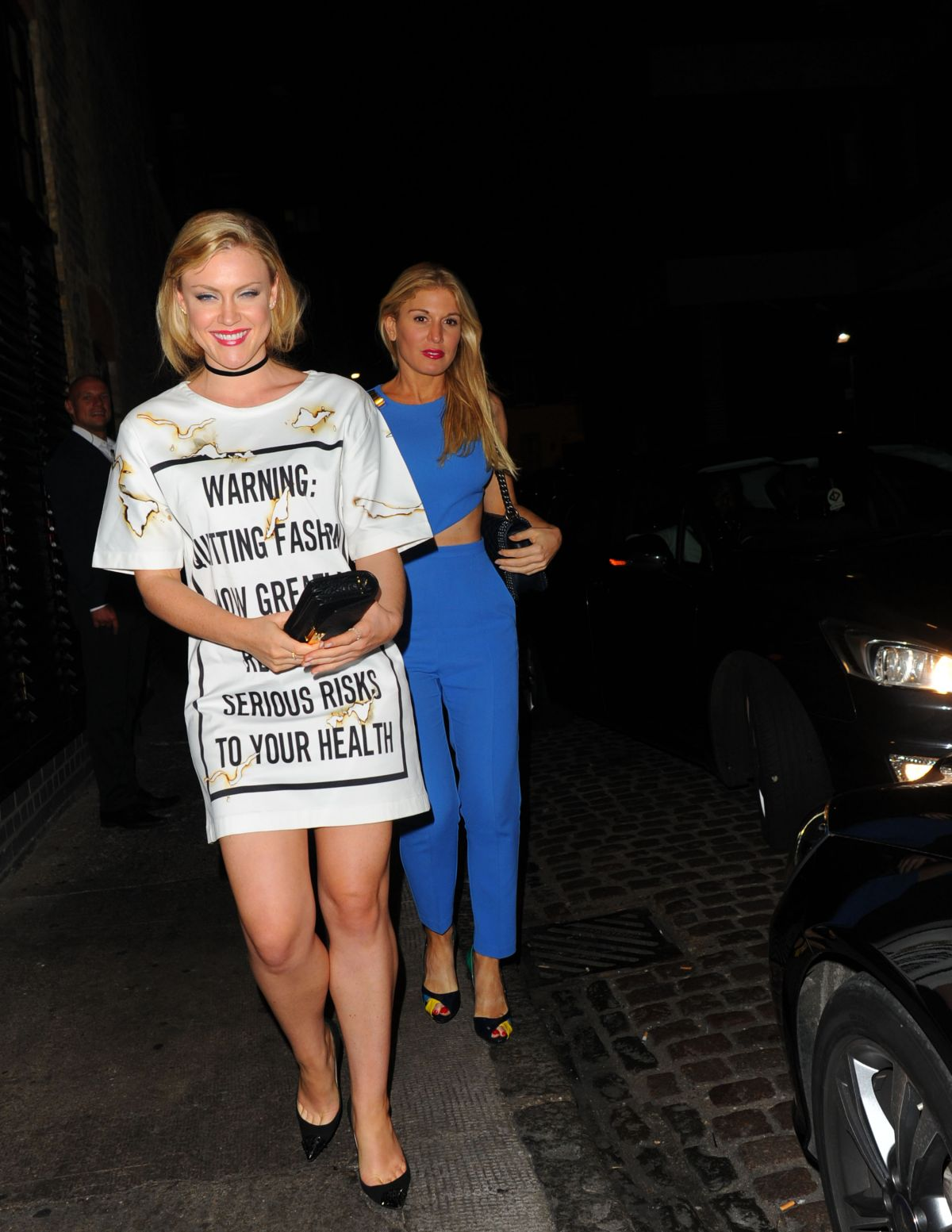 Camilla Kerslake And Hofit Golan At Chiltern Firehouse In London