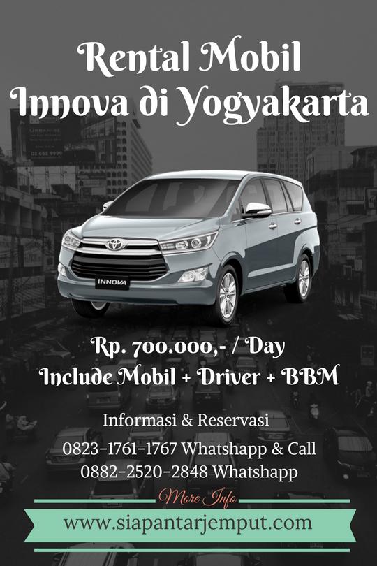 Rental Innova di Jogja || Sewa Innova Murah di Yogyakarta
