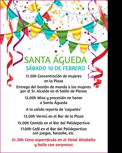 Santa Águeda 2018