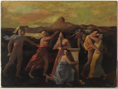 Figure Group (1950), Jean Bellette