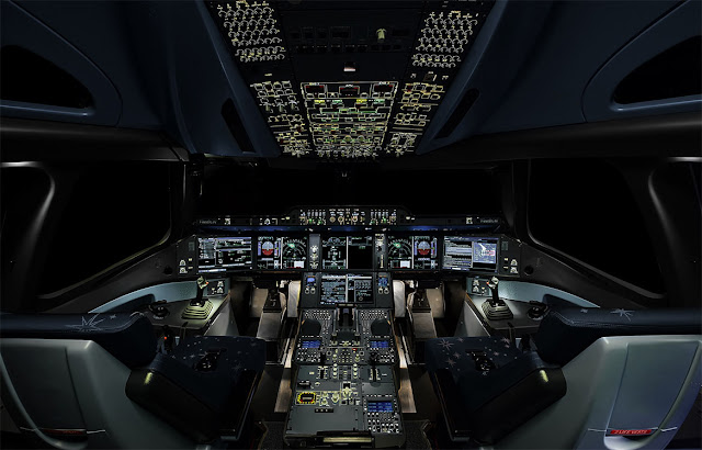 Airbus A350 XWB Cockpit Layout