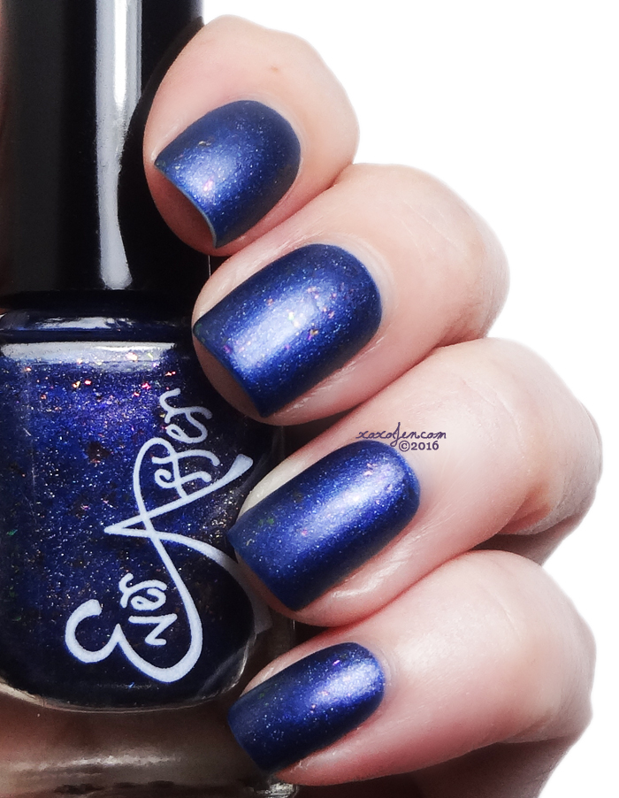 xoxoJen's swatch of Ever After Polish Raven