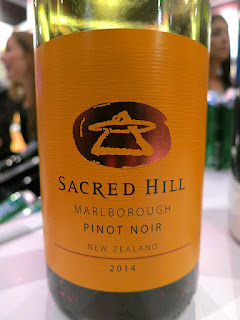 Sacred Hill Pinot Noir 2014 (88 pts)