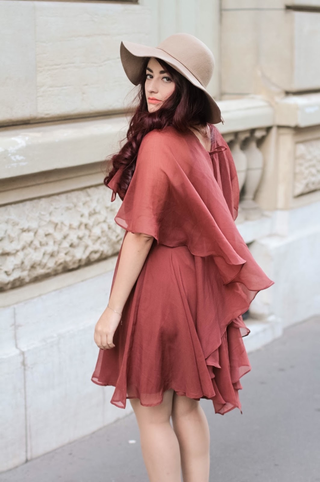 robe à cape asos