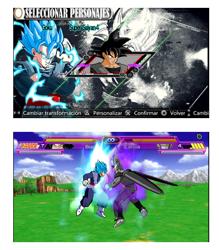 Download Dragon Ball Z Black Legacy CSO PPSSPP PSP