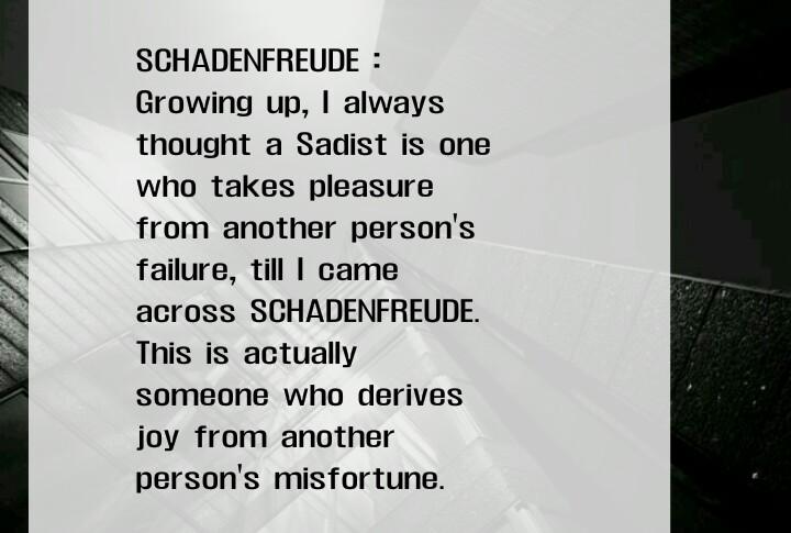 Don T Ever Mistake Schadenfreude For Sadism Although Similar Don T Ever  Mistake Schadenfreude For Sadism. Learn English Essay ...