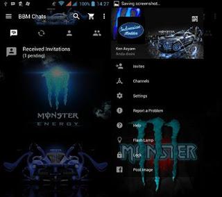 BBM MOD MONSTER ENERGY v2.11.0.16 Apk