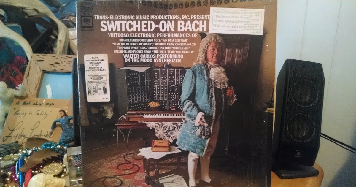 Wendy Carlos Switched On Brandenburgs